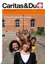 Caritas-Sonntag: Danke sagen Freiwilligenarbeit in Bayern Lasagne ...