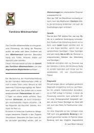 Familiäres Mittelmeerfieber - Maiwald, Dr. Robert Maiwald