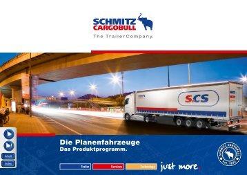 Die Planenfahrzeuge - Trailerbook - Schmitz Cargobull AG