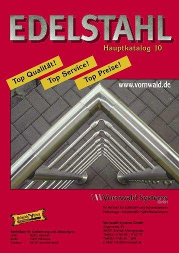 Edelstahl Hauptkatalog [pdf] - Vornwald Systems GmbH