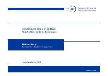 Online partnervermittlung § 627 bgb