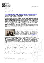 Schulpartnerschaft (pdf, 129.87 KB) - Stift Klosterneuburg