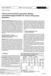 Thermomechanisch gewalzte Stähle - Hochleistungsprodukte tür ...