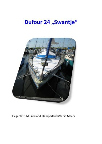 """Dufour 24 """"Swantje"""""""