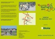 Flyer zur Veranstaltung - Rosenfeld