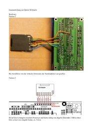 Zusatzanleitung zur Option Sd-Karte: Hardware: Version ... - Blauzahn