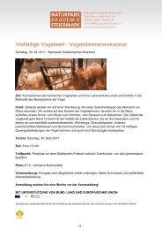 Infoblatt (PDF 121KB) - Naturpark Südsteirisches Weinland