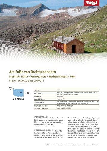Am Fuße von Dreitausendern Breslauer Hütte - Tiscover