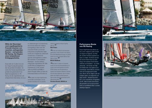 Performance Boats Brochure 2010.indd - Bootswerft Steinlechner