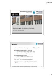 03.05.2013 1 Bestimmung der Dynamischen Viskosität - FGSV