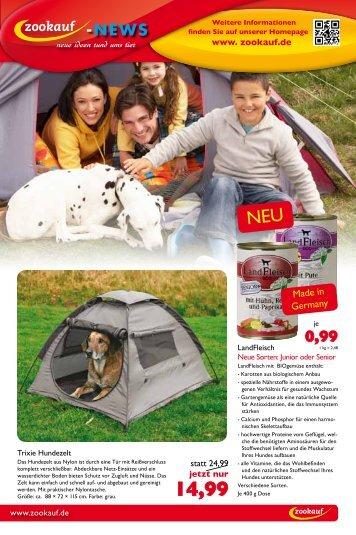 14,99 - Tierfachmarkt Hoose & Stab Vertriebs GmbH