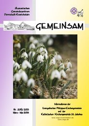 GEMEINSAM - Ökumenisches Gemeindezentrum Darmstadt ...