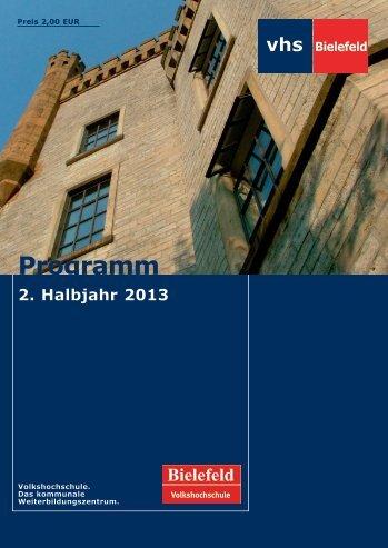 Programmheft - Volkshochschule Bielefeld
