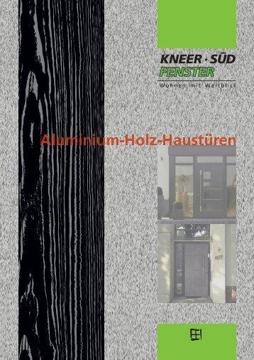 Broschüre | Aluminium-Holz-Haustüren - Kneer GmbH