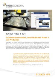 Know-How # 124 - Noser Engineering AG