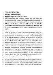 PRESSEINFORMATION Der neue Jever Jahrgang - Radeberger ...