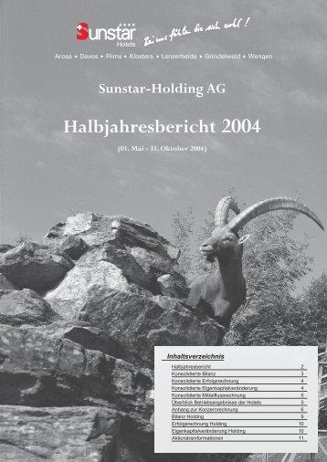 Halbjahresbericht 2004