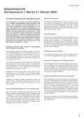 Halbjahresbericht 2004 - Seite 2