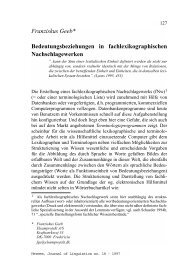Franziskus Geeb* Bedeutungsbeziehungen in ...