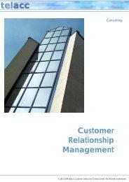 Customer Relationship Management - bei telacc