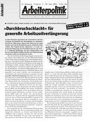 2 2004 - der Gruppe Arbeiterpolitik