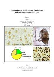 und Zooplanktons schleswig-holsteinischer Seen 2006