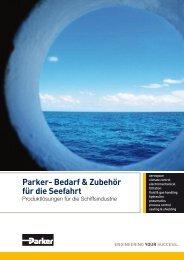 Parker- Bedarf & Zubehör für die Seefahrt - ParkerHFDE