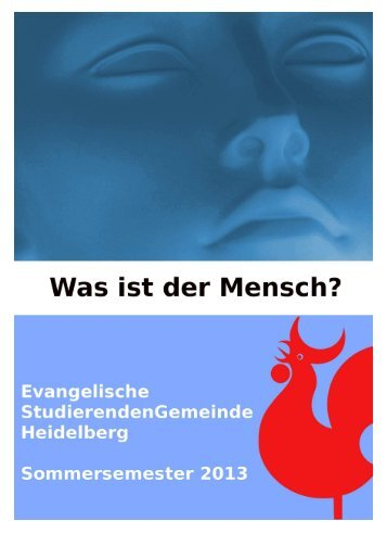 Semesterprogramm Sommersemester 2013 - Evangelische ...