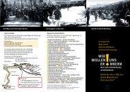 Flyer von wir-wollen uns erinnern (pdf deutsch)