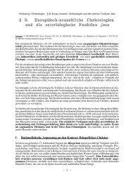 Europäisch-neuzeitliche Christologien - Theologie-Skripten