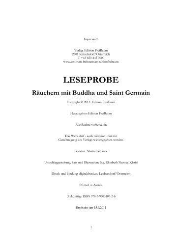 LESEPROBE - saint germain