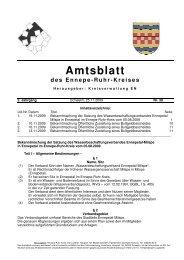 45. 2009_30.pdf - Ennepe-Ruhr-Kreis
