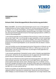 VENRO-Pressemitteilung