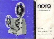 NORIS Super 200 BA.pdf - Super8-projektor.de