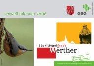 Termine - Stadt Werther
