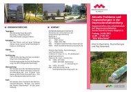 Flyer Programm - Kommunalunternehmen Kliniken und Heime des ...