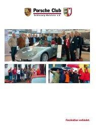 Faszination verbindet. - Porsche Club Schleswig-Holstein