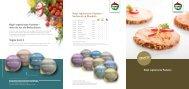Hügli vegetarische Pasteten - bei Hügli Food Service