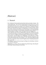 Reverse Engineering und Erweiterung der Mikrobiom-Analyse ...