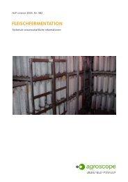 FLEISCHFERMENTATION - Agroscope - admin.ch