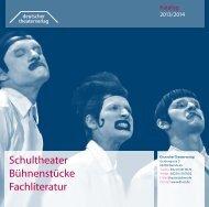 als PDF herunterladen - Deutscher Theater-Verlag