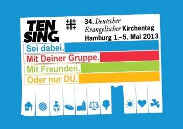 Sei dabei. - Ten Sing Deutschland