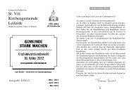 Ausgabe 1-2012-März-Mai - St. Viti Kirchengemeinde Leiferde