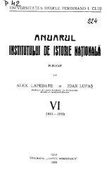 ANUARUL - DSpace