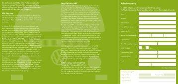 Download des Aufnahmeformulares zur Mitgliedschaft in ... - Bulli.org