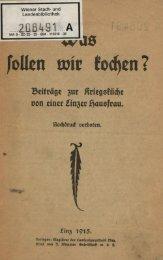 Was sollen wir kochen? von 1915 - Sicherheit-statt-krise.de