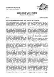 Folge 2006/2 - Historische Gesellschaft der Deutschen Bank e.V.