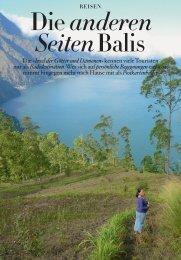 Medienbericht: Die anderen Seiten Balis - Seventheaven