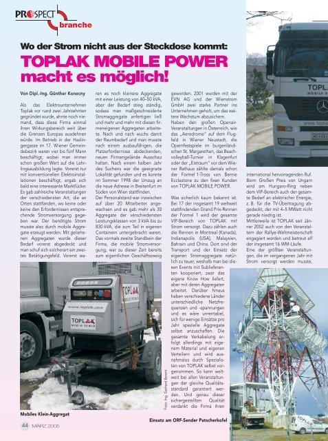 44-45 TOPLAK MOBILE POWER macht es möglich