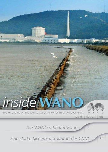 Die WANO schreitet voran Eine starke Sicherheitskultur in der CNNC